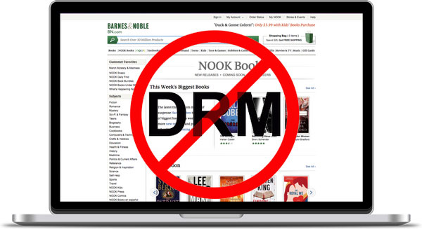 Remove DRM from Nook Books